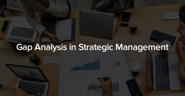 Gap analysis in Strategic Management
