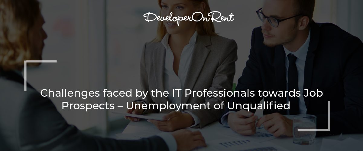 Challenges faced by IT Professionals
