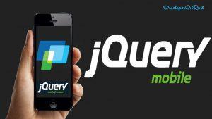 JQuery Mobile Framework