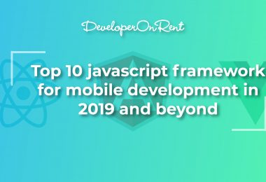 JavaScript frameworks for mobile app development