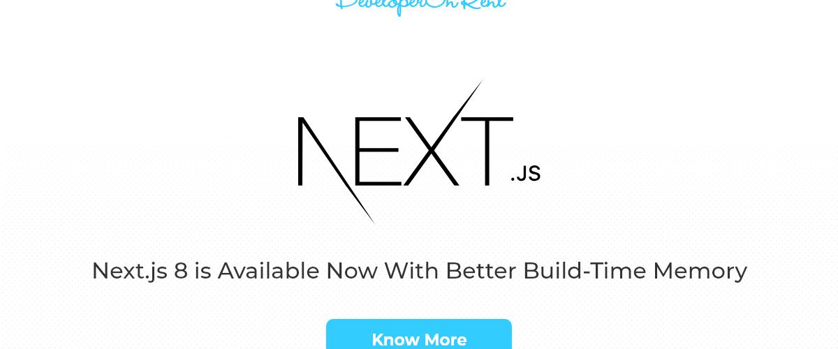 next.js 8