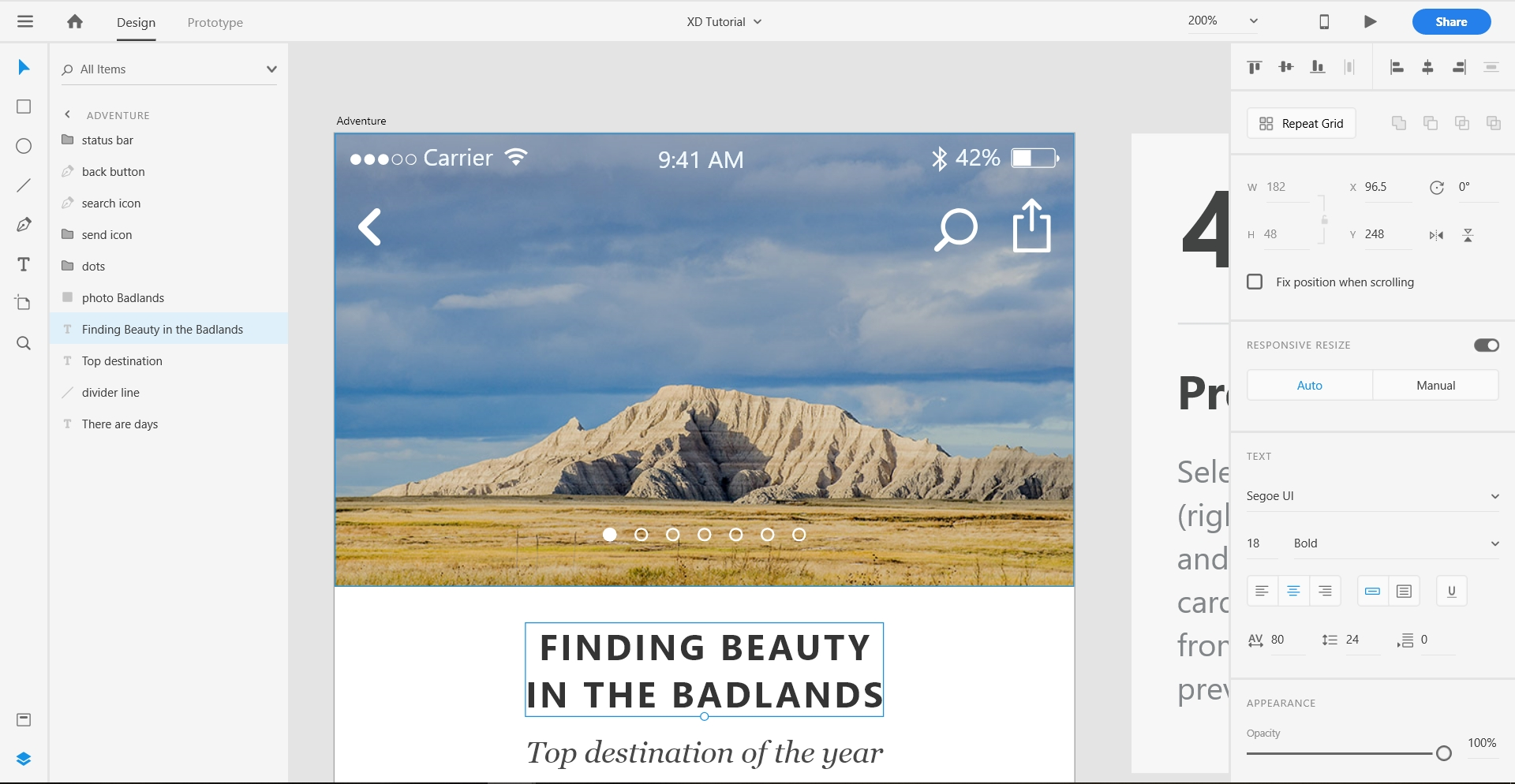 Adobe XD Designing tool