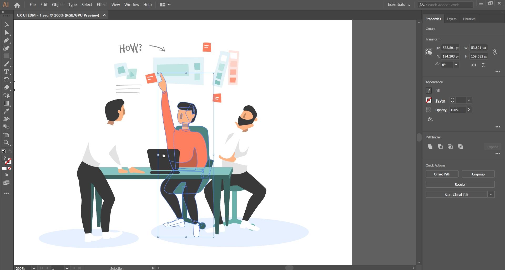 Illustrator Designing Tool