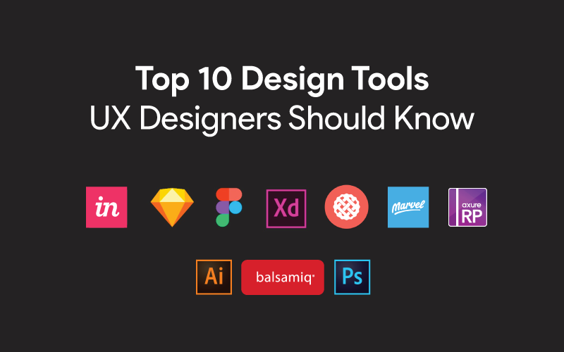 top 10 ux design tools for UX designers