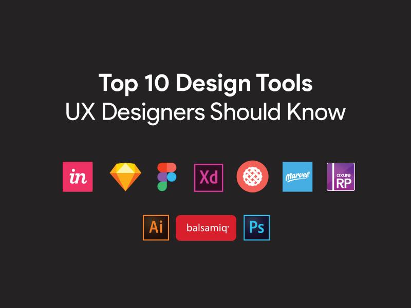 top 10 ux design tools for UX designers