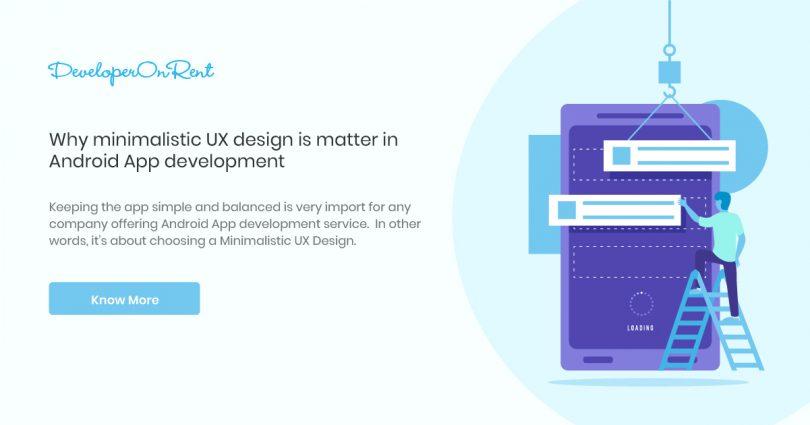 minimalist ux design